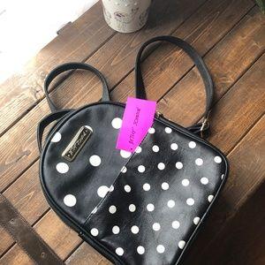 Betsey Johnson Polka Dot Backpack
